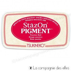 Stazon encre passion red