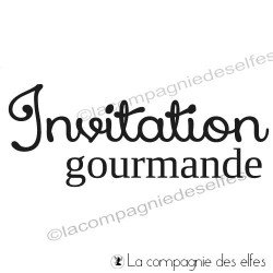 Tampon Invitation gourmande
