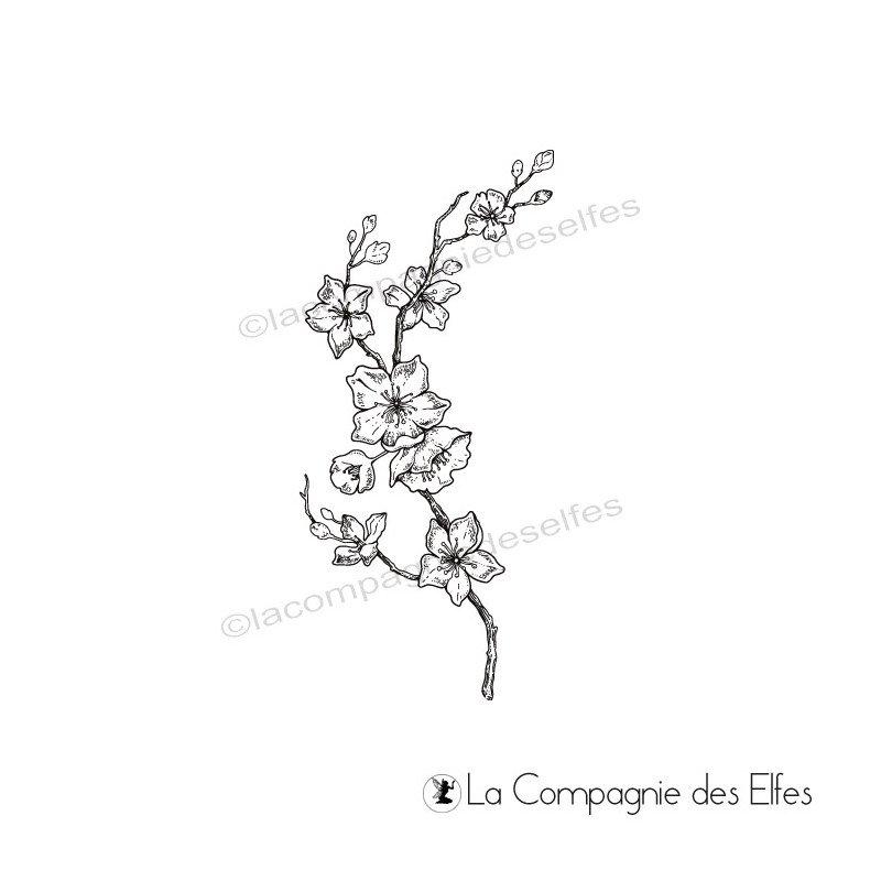 Tampon Branche De Cerisier Du Japon La Compagnie Des Elfes