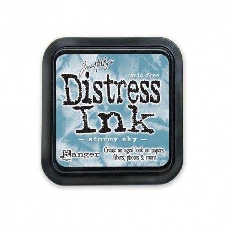 Carte vacances 1/3 Encreur-distress-bleu-ciel