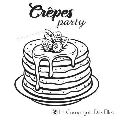 Tampon crêpes |party crêpes