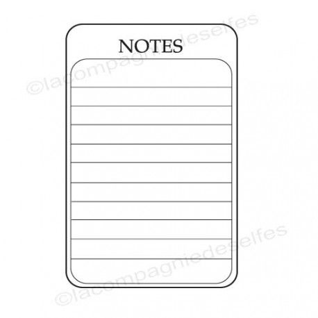 tampon encreur note | tampon scrap notes