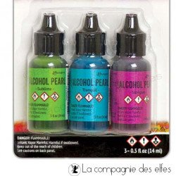 Kit encre alcool 2 Ranger | alcool sublime tranquil intrigue