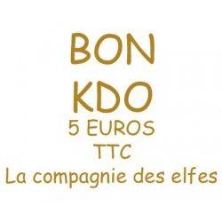 BON ACHAT CADEAU 5 EUROS