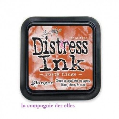 encre distress RUSTY