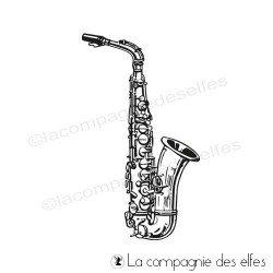 Tampon encreur saxophone