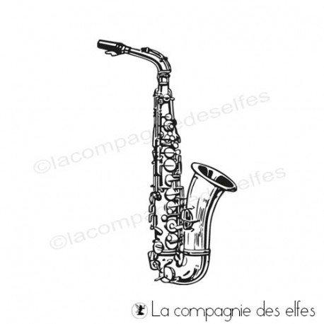 Cartes de Février 2020 Tampon-encreur-saxophone