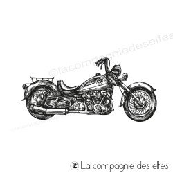 Acheter tampon moto | motorcycle rubber stamp
