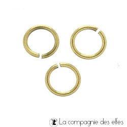 Anneau dorés | anneaux cercles bijou