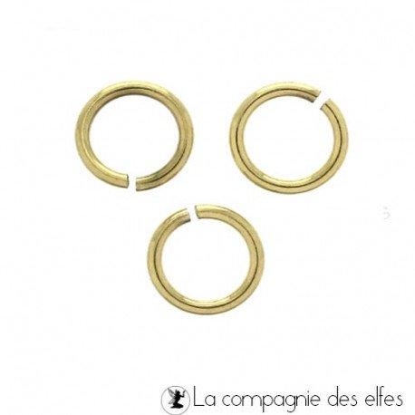 Anneau dorés   anneaux cercles bijou