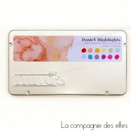 achat crayons pour aquarelle | highlights nuvo