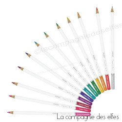 achat crayons pour aquarelle | elementary midstones nuvo