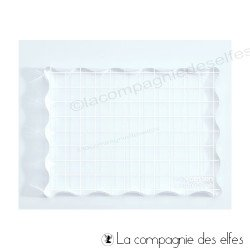 Matériel pour scrapbooking | achat plexi bloc tampon | acrylic block