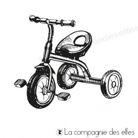 tampon encreur jeu | acheter timbre vélo enfant