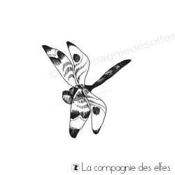 Tampon la libellule