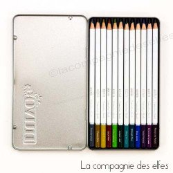 achat crayons pour aquarelle | watercolour dark shadows