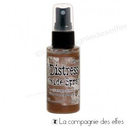 Distress spray oxide vintage photo