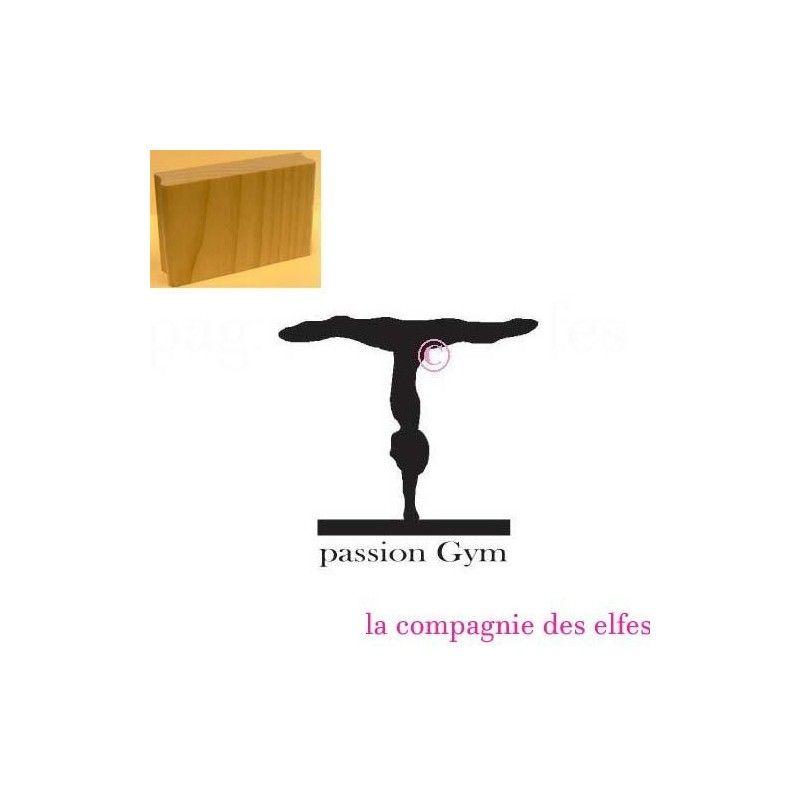 tampon bois passion gym. Black Bedroom Furniture Sets. Home Design Ideas