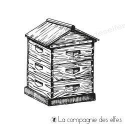 Tampon la maison des abeilles