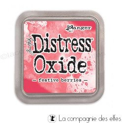 Achat distress rouge cerise festive berries