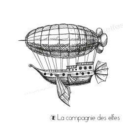 Tampon le tour du monde en ballon