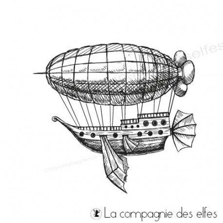 Carte steampunk 3/3 programmé 22 04 Tampon-le-tour-du-monde-en-ballon