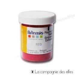 poudre rouge | poudre artemio | poudre chaud