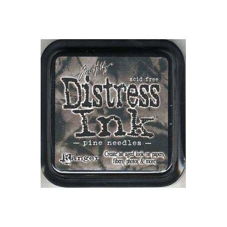 Sketch scrap  Distress-encreur-pad-pine-needles