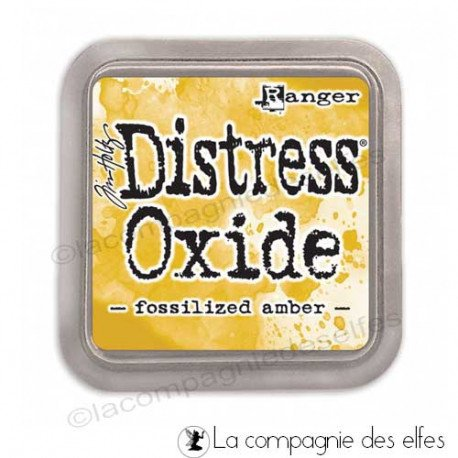 achat encre distress oxide| oxide fossilized amber