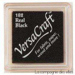 encreur tissu noir black