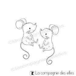 Tampon souris vis à vis