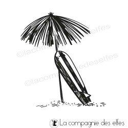 Tampon parasol en paille