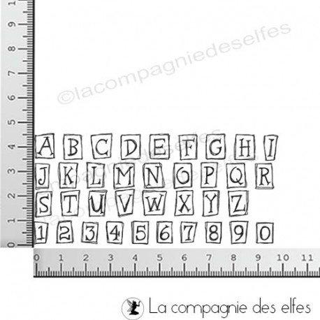 27 août par Maria calendrier programmé Tampon-alphabet-petits-cadres