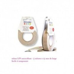 ruban lin | acheter ruban scrap