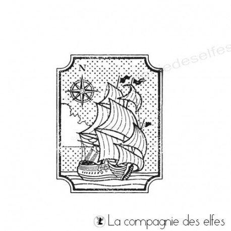 Tampon encreur marine | tampon scrap marine