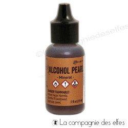 Encre alcool pearl Ranger | acheter encre alcool