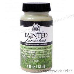 Peinture vert mousse clair
