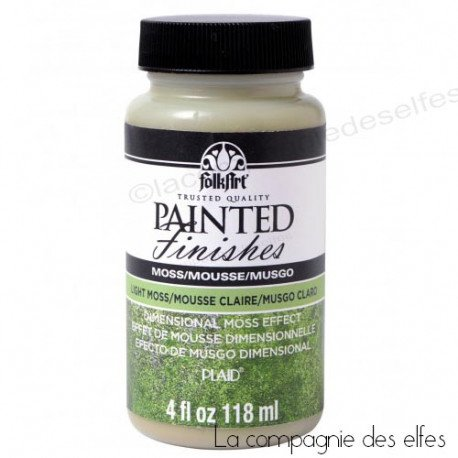 acheter peinture vert mousse