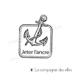 Tampon jeter l'ancre