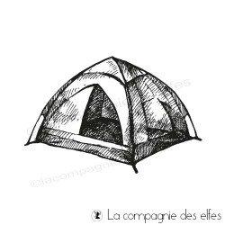 Tampon toile de tente