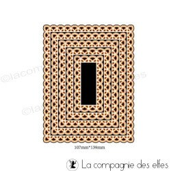 Dies rectangle dentelle
