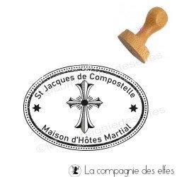 Achat tampon croix chrétienne | acheter cachet paroissial