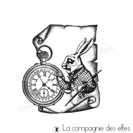 Carte vintage-steampunk 2/2  programmé le 23 juillet Tampon-grand-parchemin-alice