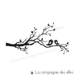 Tampon encreur branche | branch rubber stamp