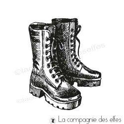 Tampon encreur boots rando