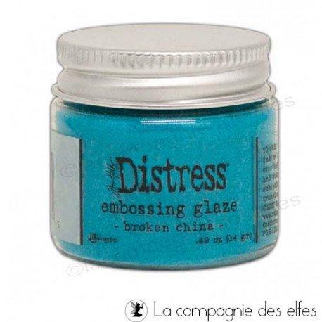 acheter distress embossing glaze