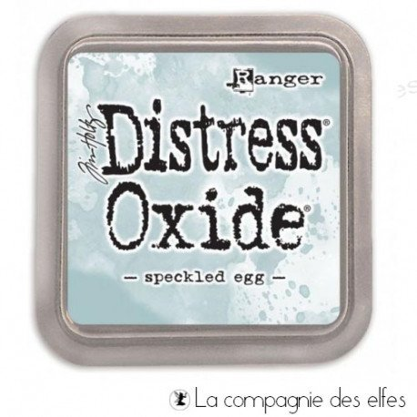 Achat distress oxide speckled egg