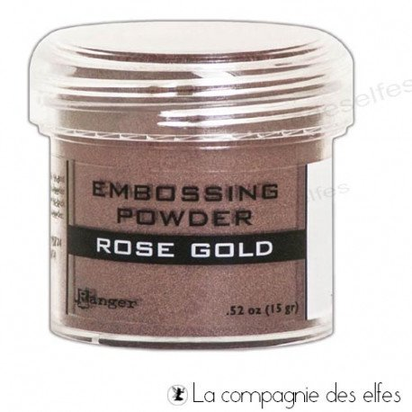 Rose gold powder | poudre or rose