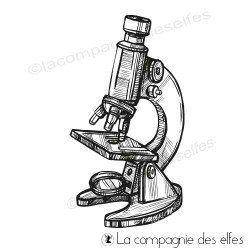 Tampon encreur microscope