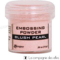 Poudre embossage à chaud Blush Pearl